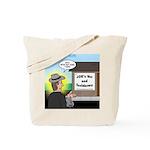 Vet Taxidermist Tote Bag