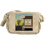 Vet Taxidermist Messenger Bag