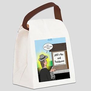 Vet Taxidermist Canvas Lunch Bag