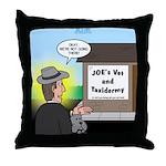 Vet Taxidermist Throw Pillow