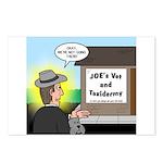 Vet Taxidermist Postcards (Package of 8)