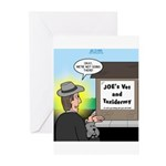 Vet Taxidermist Greeting Cards (Pk of 20)