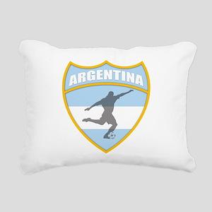 argentina Rectangular Canvas Pillow