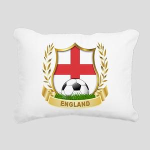 England Soccer Rectangular Canvas Pillow