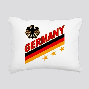 germany a Rectangular Canvas Pillow