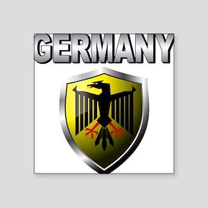 "germany a Square Sticker 3"" x 3"""
