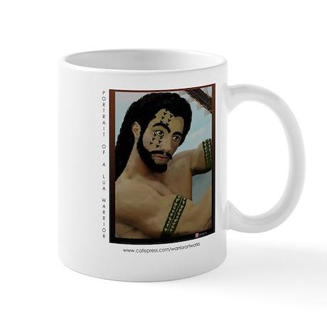 Mug, Portrait of a Lua Warrior