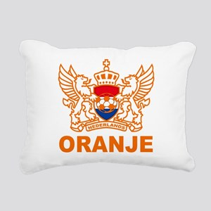 oranje Rectangular Canvas Pillow