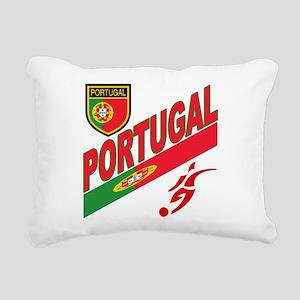 portugal Rectangular Canvas Pillow