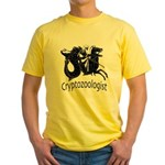 Cryptozoologist Ancient Yellow T-Shirt