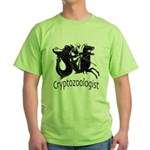Cryptozoologist Ancient Green T-Shirt
