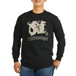 Cryptozoologist Ancient Long Sleeve Dark T-Shirt