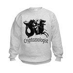 Cryptozoologist Ancient Kids Sweatshirt