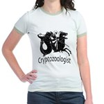 Cryptozoologist Ancient Jr. Ringer T-Shirt
