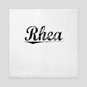 Rhea, Vintage Queen Duvet