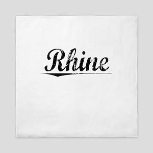 Rhine, Vintage Queen Duvet