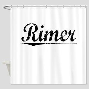 Rimer, Vintage Shower Curtain