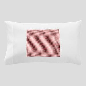 Valentine Houndstooth Pillow Case