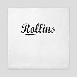 Rollins, Vintage Queen Duvet