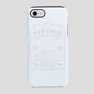 Vintege 1979 Aged to Perfectio iPhone 7 Tough Case