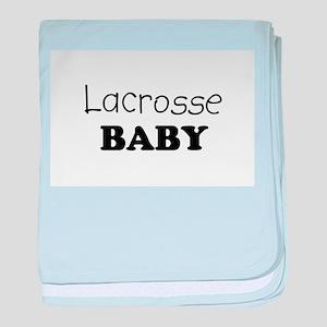 Lacrosse baby blanket