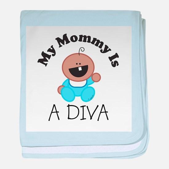 A_DIVA.jpg baby blanket