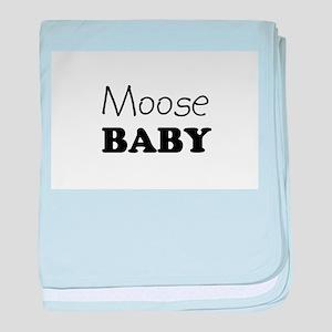 Moose.png baby blanket