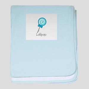 BlueLollipop baby blanket