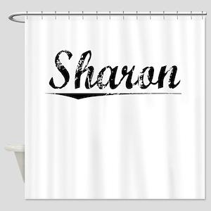 Sharon, Vintage Shower Curtain
