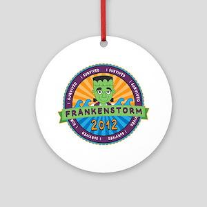 Survived Frankenstorm 2012 Ornament (Round)