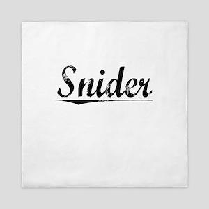 Snider, Vintage Queen Duvet
