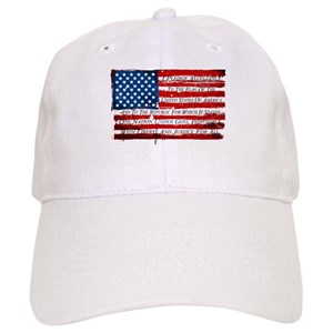 0bee3ba4a46 Distressed American Flag Hats - CafePress