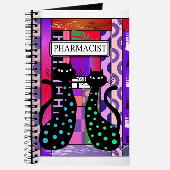 pharmacist cat phone pink.PNG Journal