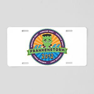 Hurricane Sandy Frankenstorm 2012 Aluminum License