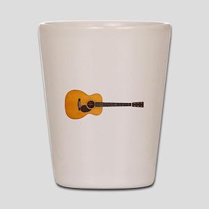 Acoustic Guitar Shot Glass