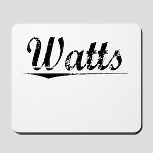 Watts, Vintage Mousepad