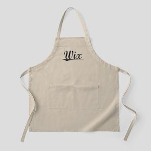 Wix, Vintage Apron