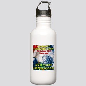 I Survived Hurricane Sandy Stainless Water Bottle