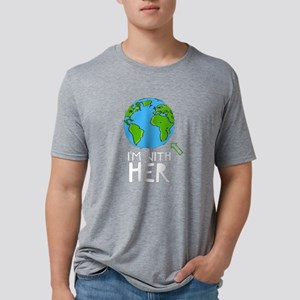 March For Science - I'm Mens Tri-blend T-Shirt