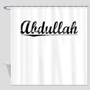 Abdullah, Vintage Shower Curtain