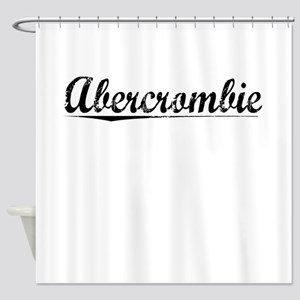 Abercrombie, Vintage Shower Curtain