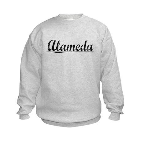 Alameda, Vintage Kids Sweatshirt