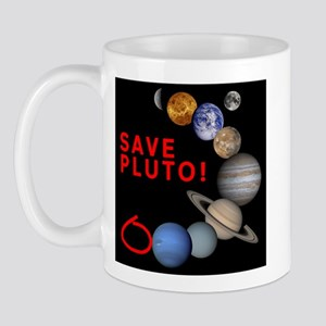 Save Pluto! Mug