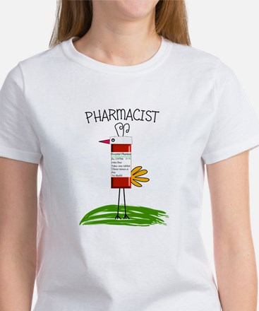 PHARMACIST BIRD NO BACK bigger.PNG Women's T-Shirt