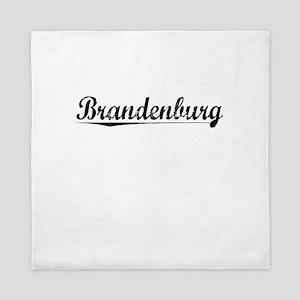 Brandenburg, Vintage Queen Duvet