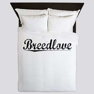 Breedlove, Vintage Queen Duvet