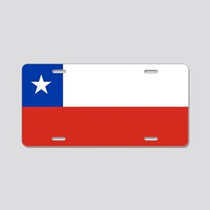 Flag of Chile Aluminum License Plate