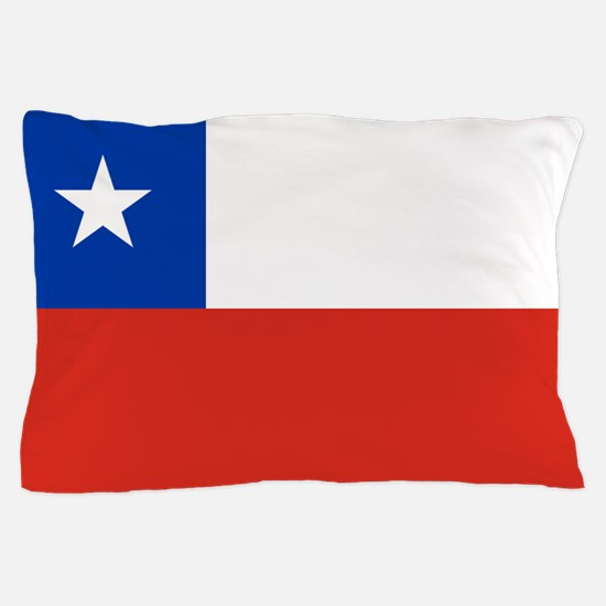 Flag of Chile Pillow Case