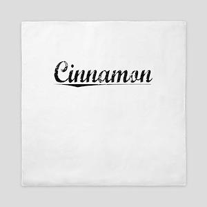 Cinnamon, Vintage Queen Duvet