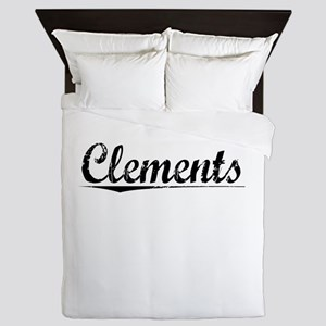 Clements, Vintage Queen Duvet